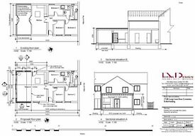 Architectural Drawings, Planning Application, Building Regulation, Rear Extension, Sign application