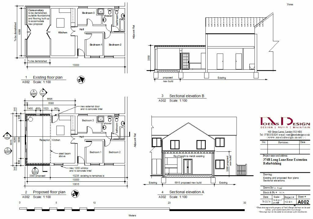 Architectural Drawings Planning Application Building
