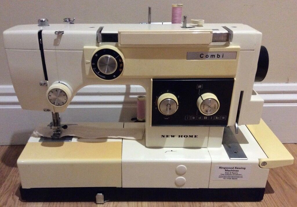 Janome Combi Sewing Machine Combined Overlocker PreOwned Classy Overlocker Sewing Machine Uk