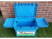 Shakespeare Team Fishing Seat Box with Side Trays