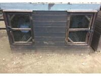 Double cage for sale suitable for chickens,ducks ect