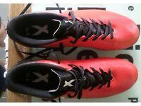 Adidas x16.4 football boots size UK 9.5/44