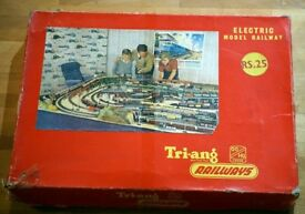 A Tri-ang OO/HO electric railway set from the 1960's.