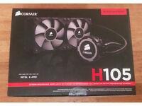 Corsair Hydro H105 Extreme Performance Liquid CPU Cooler - 60£ O.N.O sold