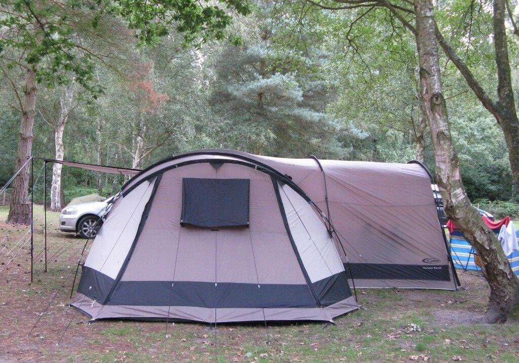 Gelert Horizon 8 Tent 8 person tunnel tent 4 separate bedrooms and big Porch & Gelert Horizon 8 Tent 8 person tunnel tent 4 separate bedrooms and ...