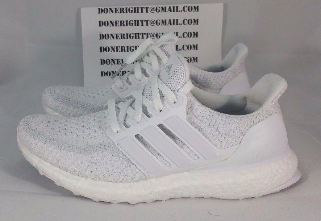 e9a530c318ae1 Kids Womens Adidas Ultra Boost J All Triple White Out Yeezy 350 NMD BA9274  2.0 фото