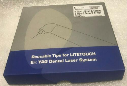 AS70671 Tips for Litetouch 5 tips 1.0mmX17mm. 5 Tips 0.8X17MM YAG Dental Laser