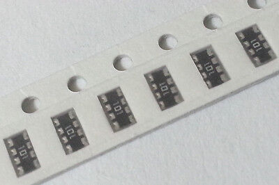 Resistor Network Smd 100ohm 1206 5 62.5mw 200ppm Cts 742c083101jp New 5000pcs