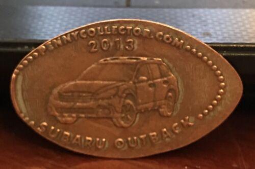 2013 Subaru Outback Pressed Elongated Penny - $3.00