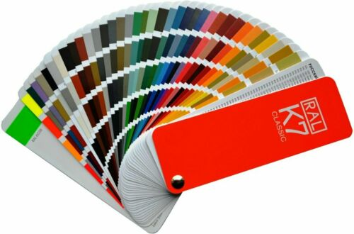 New RAL K7 Colour fan deck Color Guides Pantone Printing Graphic Essentials Arts