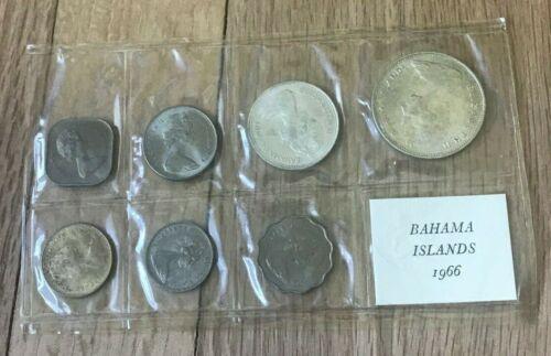 1966 Bahamas Uncirculated Coin Set
