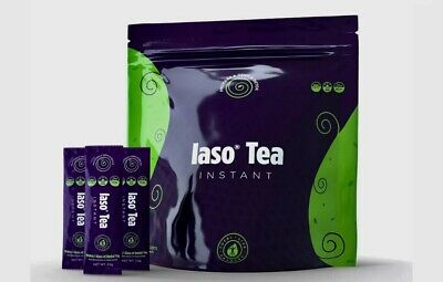 TLC *IASO INSTANT TEA* 20 SACHETS CLEANSE / DETOX* $29.88 BEST BUY!