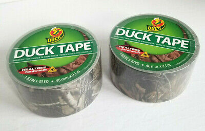 Duck Brand Realtree Camo Duct Tape - 2 10 Yd Rolls - Free Shipping