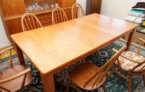 Solid Wood Vintage Dining Table