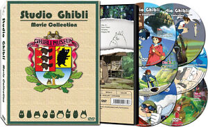 17 Complete STUDIO GHIBLI Movies [ English Dubbed ] Films Collection DVD Box Set