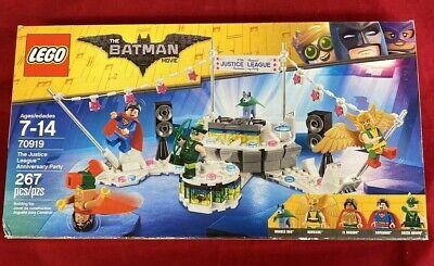 NIB Lego The Batman Movie 70919 The Justice League Anniversary Party