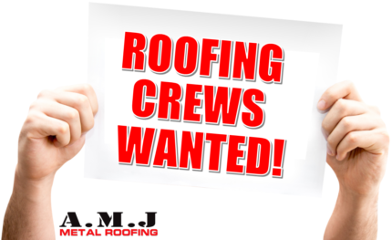 METAL ROOFING CREWS WANTED   Immediate Start Available!