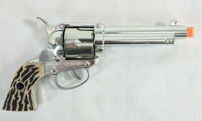Vintage Mattel Shootin Shell Fanner Toy Cap Gun 6 Shooter Working Used