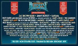 Byron Bay 2017 Bluesfest 5 day ticket, + camping, and tent motel Reservoir Darebin Area Preview