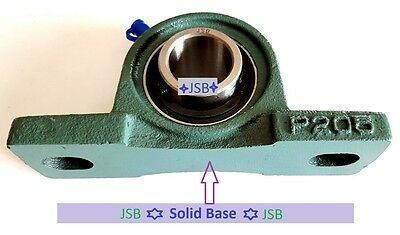 Qty.2 Solid Base High Quality 1 Ucp205-16 Self-align Pillow Block Bearings