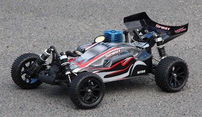 XTC RC RACING BUGGY SPIRIT NITRO 2-GANG GETRIEBE RTR 4WD 1:10 VERBRENNER 2,4GHZ