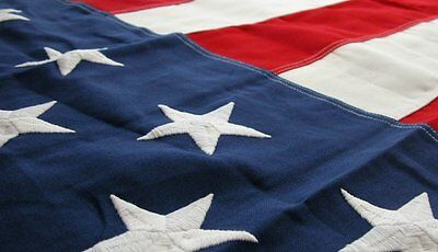 5x9.5 FT US Military Contracted American Burial Interment Flag