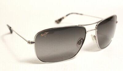 Maui Jim Wiki Wiki Silver Aviator Frame Polarized Sunglasses 59-17-120 Free (Aviator Sunglasses Wiki)
