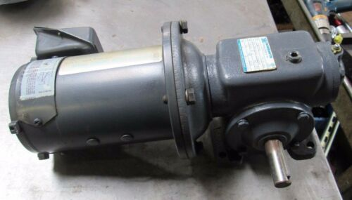 INDIANA ADJUSTABLE SPEED DRIVE MOTOR CAT. D030 W/ WINSMITH GEAR REDUCER 2MCTR QE