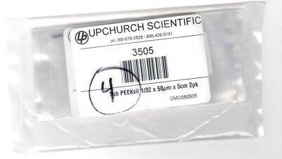 Idex Upchurch 3505 Tubing Peeksil 132 X 50um X 5cm Lot Of 4 Packs