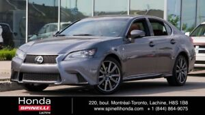 2013 Lexus GS 350 F-SPORT AWD NAVI BAS KM F-SPORT LEATHER ROOF N