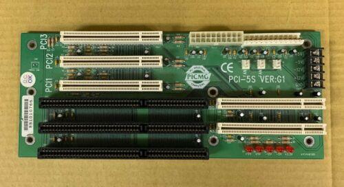 PCI-5S PICMG Passive Backplane, 2-PICMG, 3-PCI, 1-ISA (from IEI Taiwan)