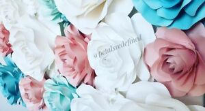 Paper flowers for events and home