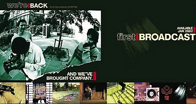 First Broadcast Blueprint Unabomber Landscape skate video PAL VHS Brand New