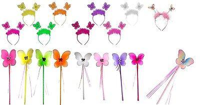 Schmetterling Pelz Stein Alice Kopfband für Erwachsene Mädchen Kostüm (Alice Kostüm Für Erwachsene)