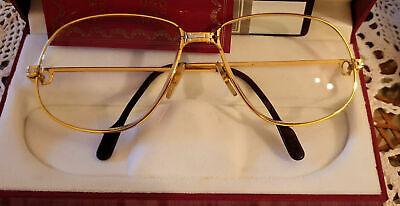 Cartier Brille Herren Orginal Vintage  Gold