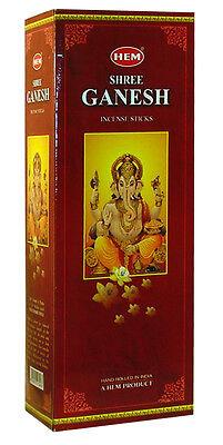 Hem Best Seller Shree Ganesh Incense Bulk 6 x 20 Stick Box 120