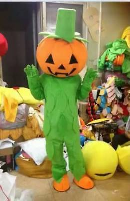 2018 Halloween Pumpkin Mascot Costume Cartoon Props Adult Cosplay Outfit Dress - Adult Pumpkin Outfit