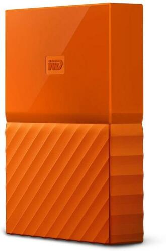 WD My Passport 3 TB oranje