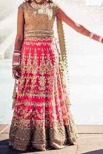 NEW INDIAN WEDDING LENGHA - PERFECT CONDITION