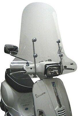 Windschutzscheibe Piaggio Vespa S 50-125-150 ab Bj. 2007 Windschild Hoch NEU