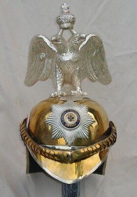 Czar Russian Empire Chevalier Cavalry Regiment Horse Guards Ceremonial helmet
