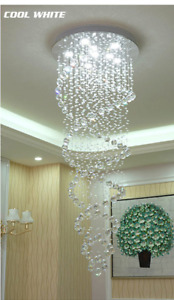 Modern Crystal Chandelier Raindrop Style Brand NEW