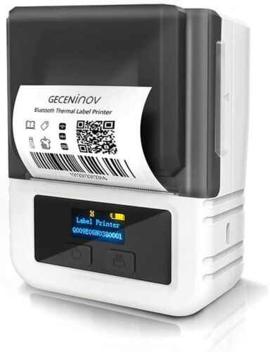 Portable Bluetooth Thermal Pocket Printer Label Maker iOS & Android  Wireless