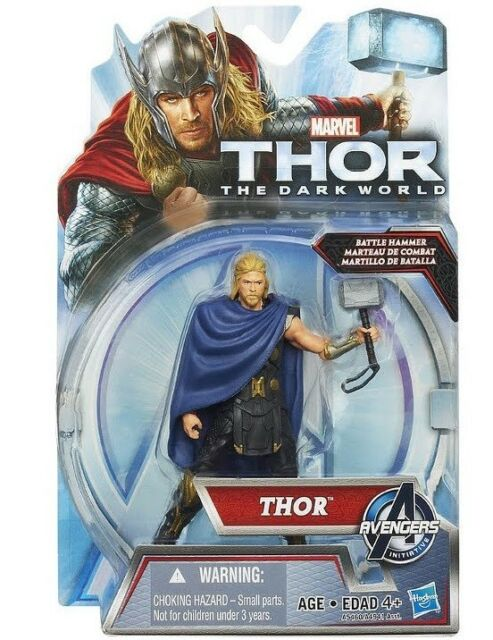 thor 2 the dark world 4 inch thor battle hammer action figure hasbro