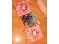3 character kids bags new