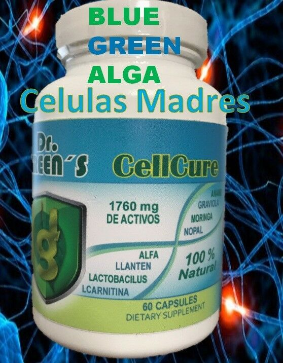 Celulas Madres Biomatrix Madre Cell Plus AFA Adult Health Stem Cell BioX bio cel 2
