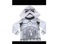New storm trooper Star Wars pyjama top 7/8years