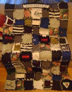 "Custom Made - ""Memory Quilts"" ~ Made by my Sister Jan Stratford Kitchener Area image 8"