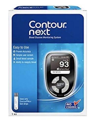 Bayer Contour Next Blood Glucose Monitoring System Kit Meter