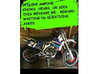 !!STOLEN!! YAMAHA YZ250F JULY 17TH YZF YZ 450 125